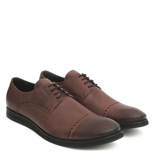 Sapato Estilo Brogue Café 45