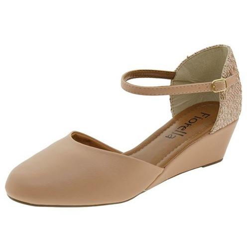 Sapato Feminino Anabela Antique Fiorella - 16218