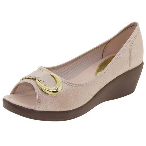 Sapato Feminino Anabela Azaleia 628485