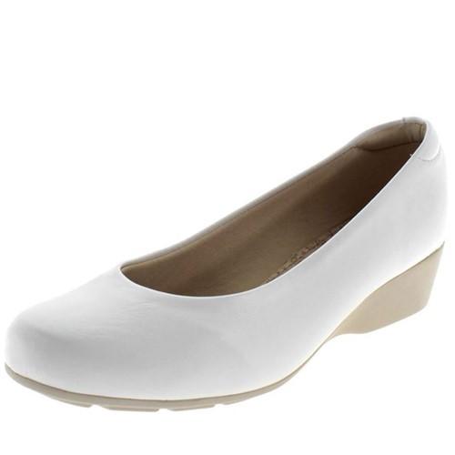 Sapato Feminino Anabela Branco Modare - 701410
