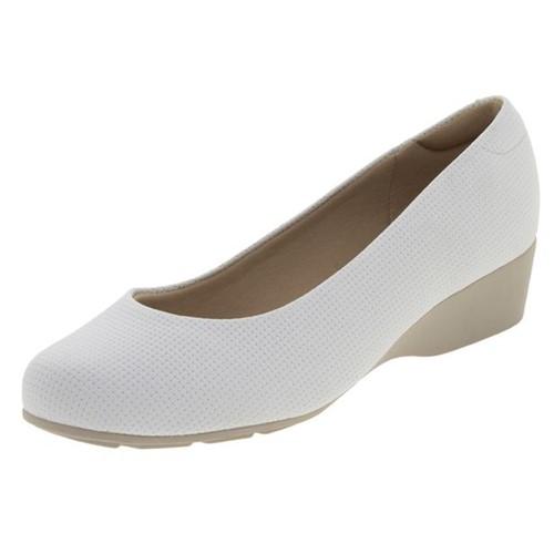 Sapato Feminino Anabela Branco Modare - 7014100