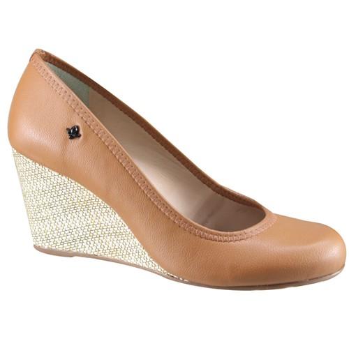 Sapato Feminino Anabela Cravo e Canela 158001 3 1580013