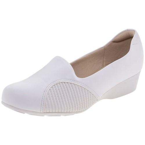 Sapato Feminino Anabela Modare - 7014249 Branco 34