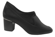 Sapato Feminino Couro Comfortflex 1867305 Preto | Dtalhe