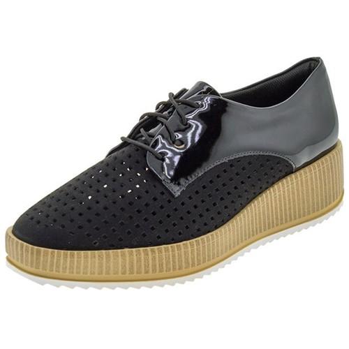 Sapato Feminino Flatform Preto Piccadilly - 977007