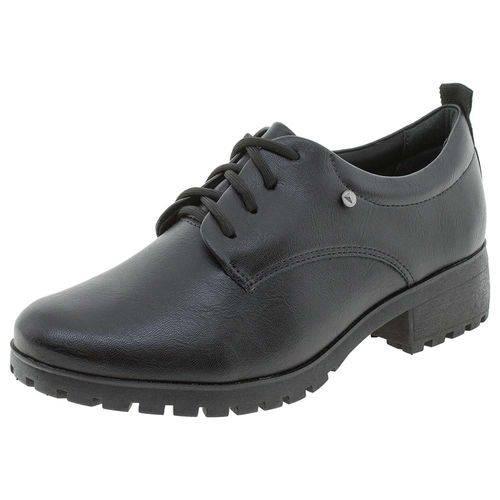 Sapato Feminino Oxford Ramarim - 1887101 Preto