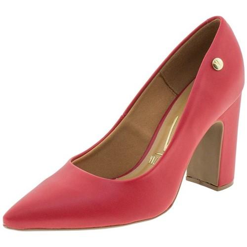 Sapato Feminino Salto Alto Vizzano - 1285100 Vermelho 01 34