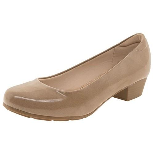 Sapato Feminino Salto Baixo Bege Modare - 7032200