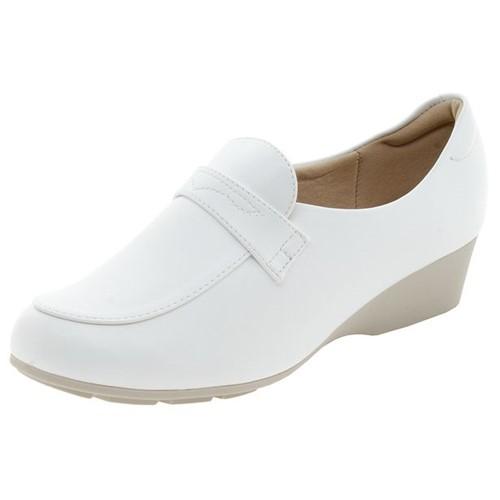 Sapato Feminino Salto Baixo Branco Modare - 7014104 33