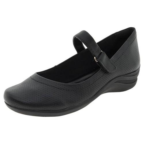 Sapato Feminino Salto Baixo Comfortflex - 1755302 Preto 34