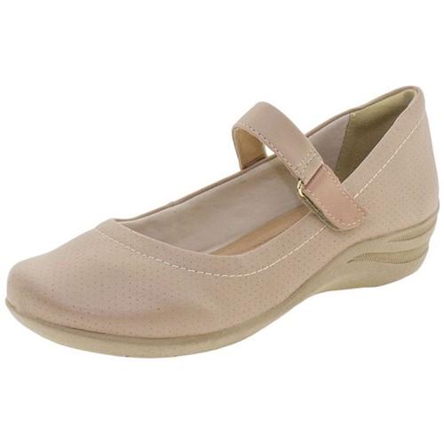Sapato Feminino Salto Baixo Comfortflex - 1755302 Salmão 34