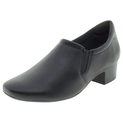 Sapato Feminino Salto Baixo Comfortflex - 1886305 Preto 35