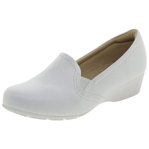 Sapato Feminino Salto Baixo Modare - 7014254 Branco 34