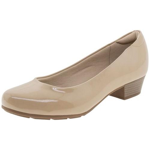 Sapato Feminino Salto Baixo Modare - 7032400 Bege 34