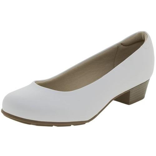 Sapato Feminino Salto Baixo Modare - 7032400 Branco 37