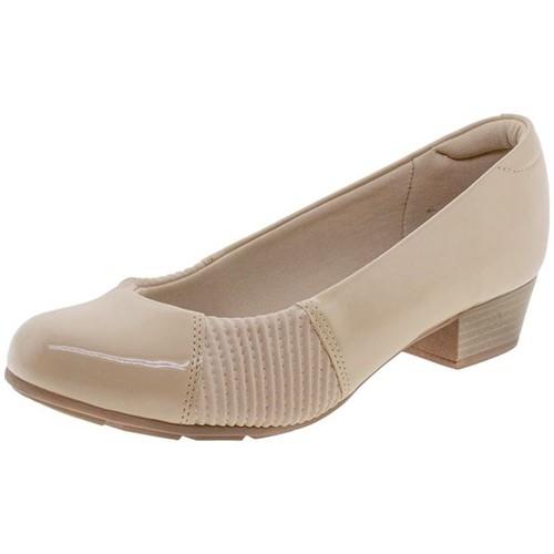 Sapato Feminino Salto Baixo Modare - 7032428 Bege 34