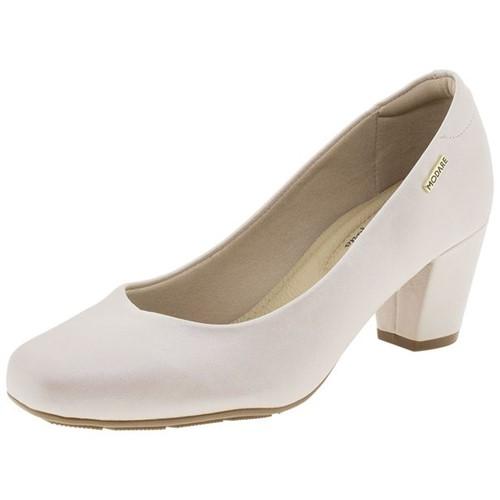 Sapato Feminino Salto Baixo Modare - 7323100 Bege 35