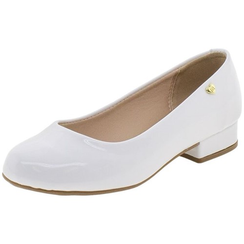 Sapato Infantil Feminino Molekinha - 2528100 Branco 27