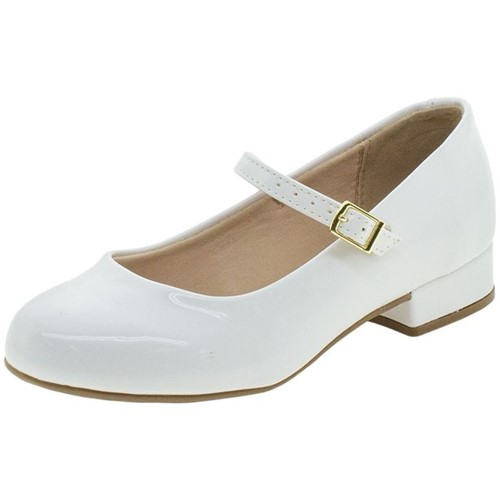 Sapato Infantil Feminino Molekinha - 2528101 Branco 27
