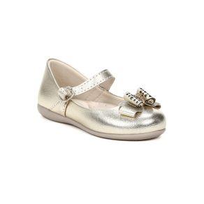 Sapato Infantil para Bebê Menina - Dourado 18
