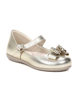 Sapato Infantil para Bebê Menina - Dourado