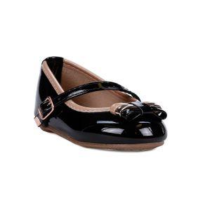 Sapato Infantil para Bebê Menina - Preto 21