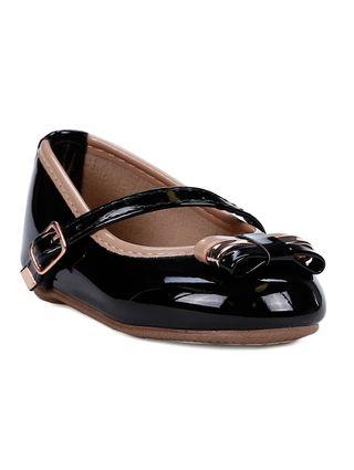 Sapato Infantil para Bebê Menina - Preto