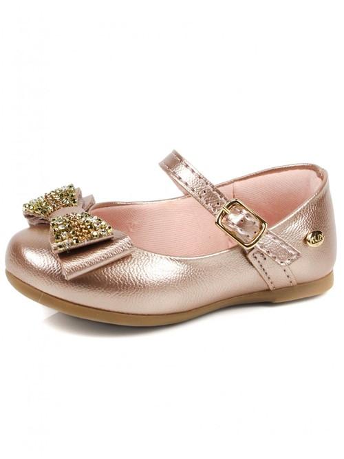 Sapato Klin Casual Laço Strass | Vivere Store
