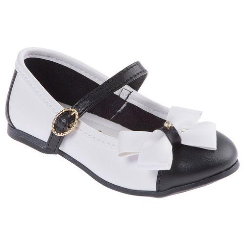 Sapato Lavanda Branco e Preto - 22