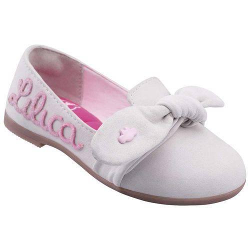 Sapato Lilica Ripilica Bebê Menina Branco