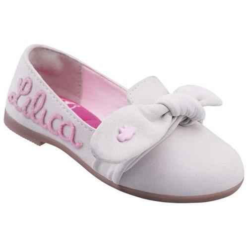 Sapato Lilica Ripilica Branca Bebê Menina