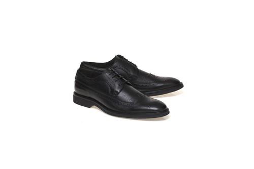 Sapato Menswear Couro Floater Oxford - Preto - 42