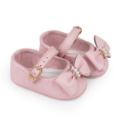 Sapato Meu 1º Sapatinho Laço - Rosa - Pimpolho-04(16)