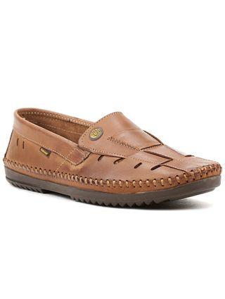 Sapato Mocassim Masculino Logan Marrom