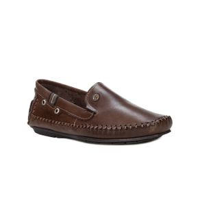 Sapato Mocassim Masculino Pegada Marrom 39