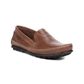 Sapato Mocassim Masculino Pegada Marrom Escuro 42
