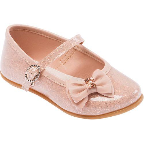 Sapato Nude com Glitter - 20