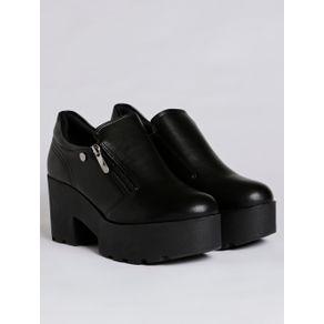 Sapato Oxford Feminino Quiz Preto 39