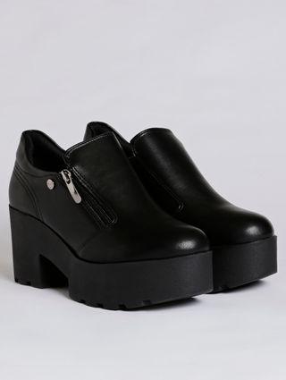 Sapato Oxford Feminino Quiz Preto
