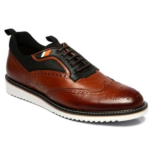 Sapato Oxford Ferreira Gurgel Semi Cromo Pinhão 606028-02