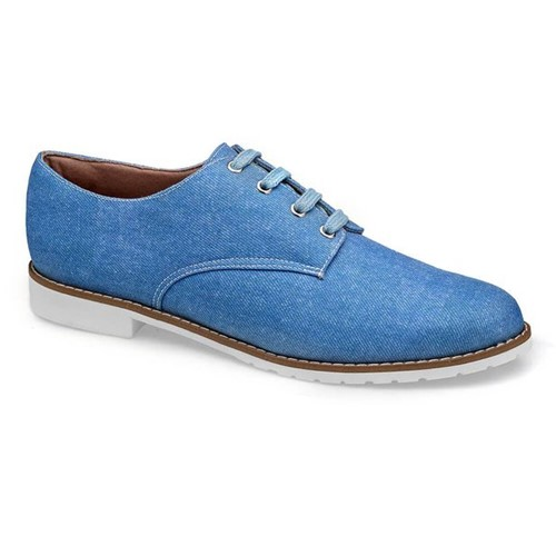 Sapato Oxford Jeans Flamarian - 201283-6 JE-Jeans-34