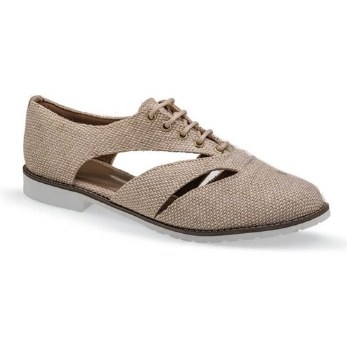 Sapato Oxford Marfim Flamarian - 263279-6MF-Marfim-34