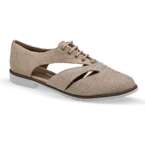 Sapato Oxford Marfim Flamarian - 263279-6MF-Marfim-35
