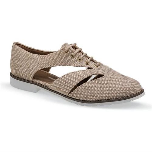 Sapato Oxford Marfim Flamarian - 263279-6MF