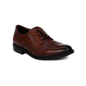 Sapato Oxford Masculino Pegada Marrom 41