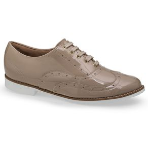 Sapato Oxford Nude Flamarian - 201282-6NU-Nude-35