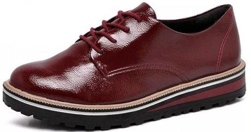 Sapato Oxford Ramarim Verniz 1990102 1990102