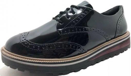 Sapato Oxford Ramarim Verniz 1990103 1990103
