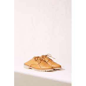 Sapato Oxford Slip-On Marrom - 34