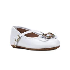 Sapato para Bebe Menina - Branco 21
